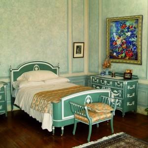 гобелен букет в спальне