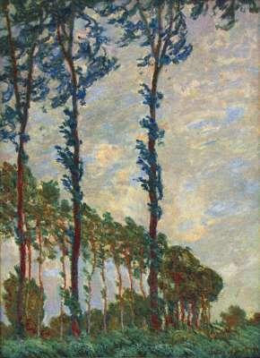 гобелен три дерева Моне
