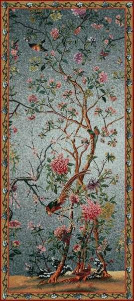 гобелен весеннее цветение