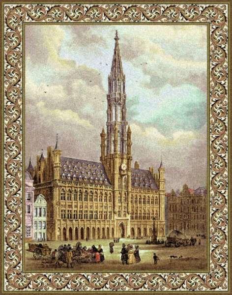 Гобелен ратуша в Брюсселе