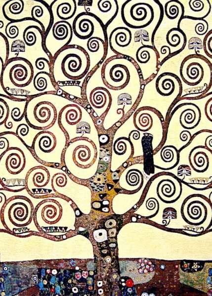 древо жизни по картине Lebensbaum