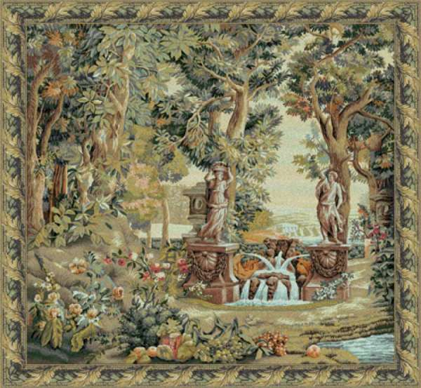 гобелен сад виллы