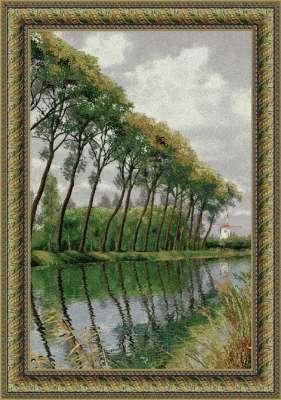 гобелен канал во Фландрии