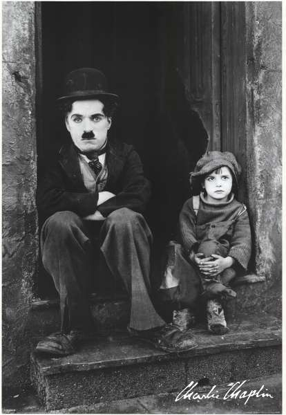 гобелен черно белое фото чарли чаплин