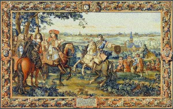 гобелен Людовик  XIV