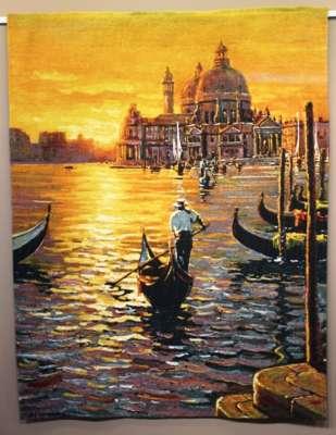 гобелен конец дня в Венеции
