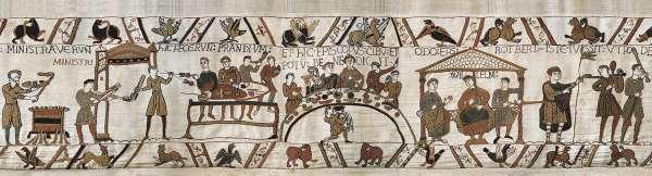 гобелен банкет Bayeux