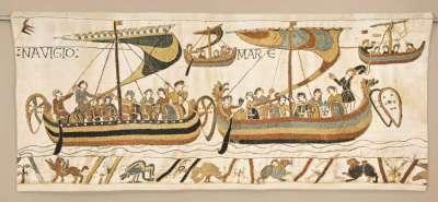 гобелен навигация Bayeux