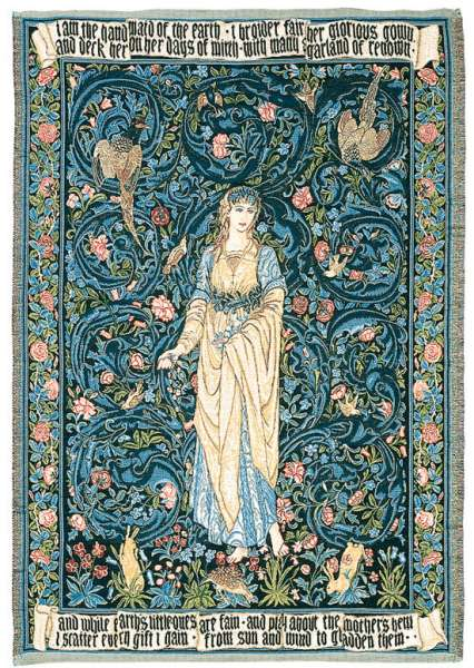 гобелен флога богиня цветов
