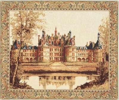 Гобелен замок Шамбор купить в интернет магазине