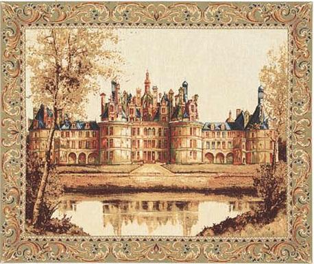 Гобелен замок Шамбор
