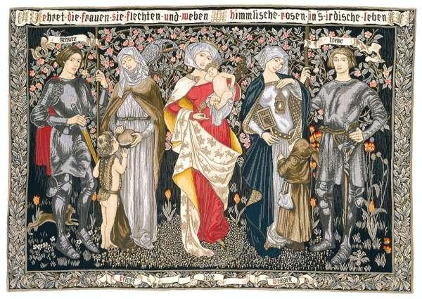 Гобелен Достоинства женщин