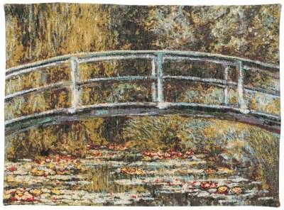 Гобелен мост в Живерни французский Pansu