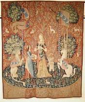 Tenture de la Dame à la Licorne : L'Odorat