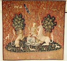 Tenture de la Dame à la Licorne : La Vue
