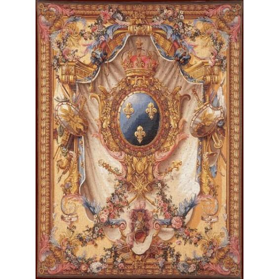 Гобелен Большой Герб Франция Art de Lys