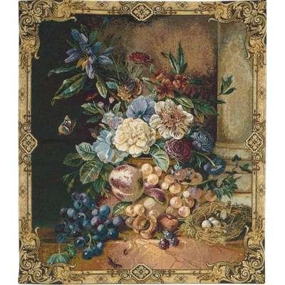 Гобелен цветы бельгийский Metrax