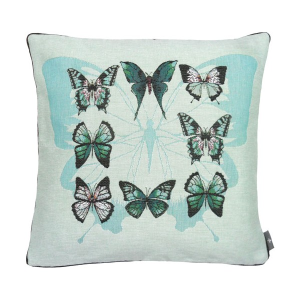 Подушка гобеленовая Бабочки