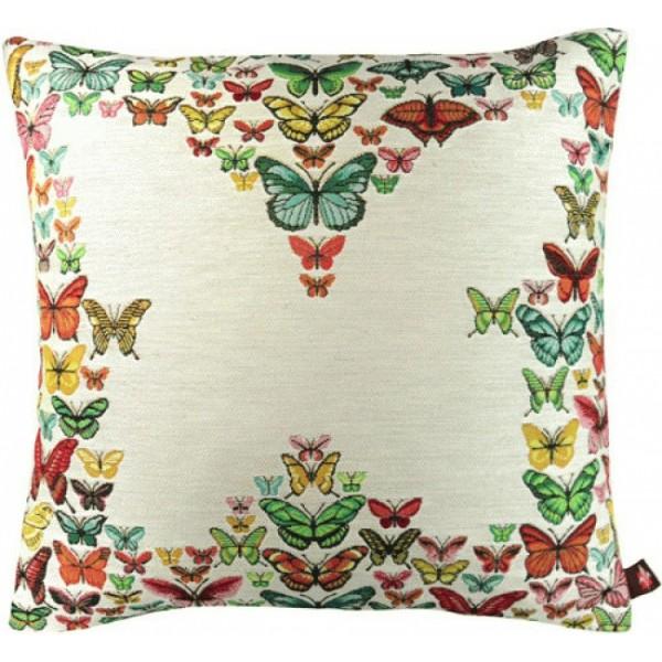 Подушка любовь бабочки французский