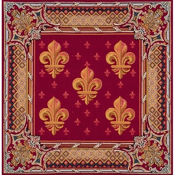 Подушка эмблема лилии французская art de lys