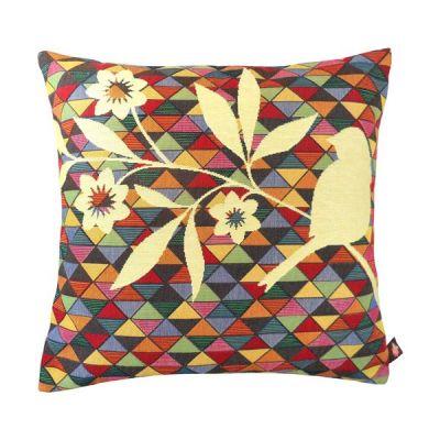 гобеленовая подушка птица art de lys