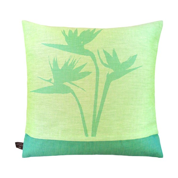 гобеленовая подушка букет райских птичек art de lys